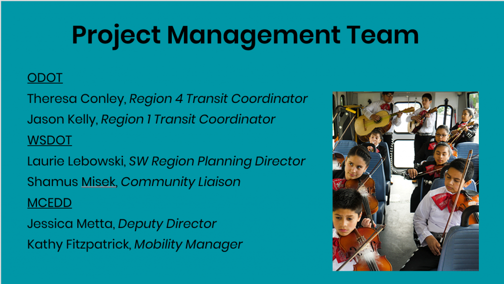 Project Management Team